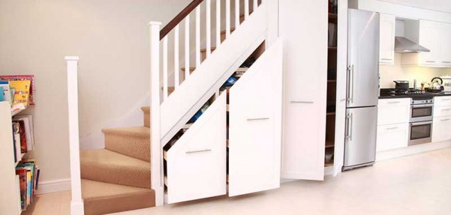 Dubleks Evlerde Merdiven Altları İçin Dekorasyon Önerileri